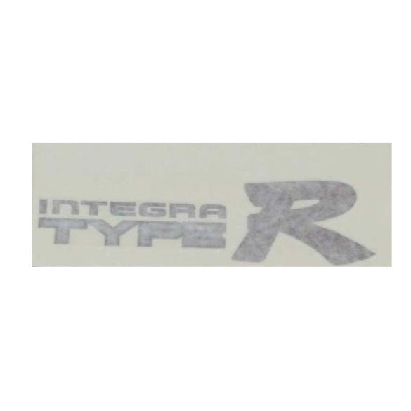 Honda Integra Type R DC2 Genuine OEM Side Decal Sticker Dark Outline (Left) - JDM Parts Central