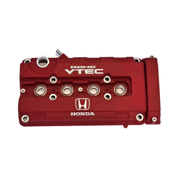Honda Genuine OEM B-Series Red Valve Cover