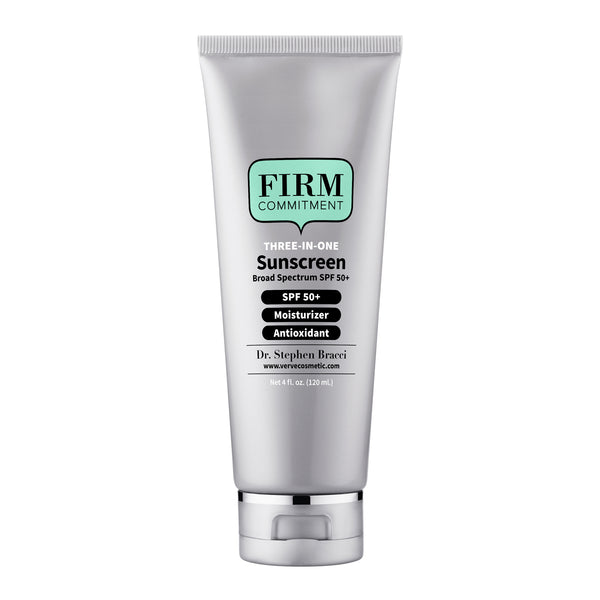 Firm Commitment Three-In-One Sunscreen SPF50+