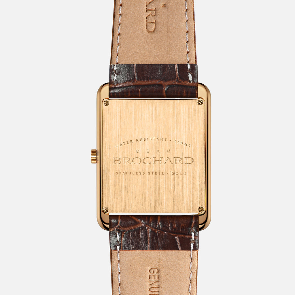 CLASSIQUE GOLD 36MM WITH TENTANT STRAP