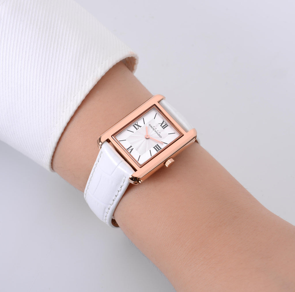 CLASSIQUE ROSE GOLD 26MM WITH ENSOLEILLE STRAP