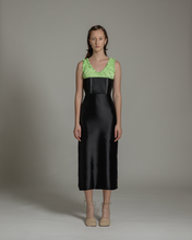 Load image into Gallery viewer, Ruched neckline dress