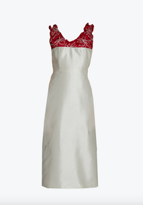 Festive Ruched neckline dress