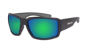 Boogie Polarised Green Mirror - Bomber Eyewear Nz