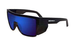 BUZZ Safety - Polarized Blue Mirror - Bomber Eyewear Nz