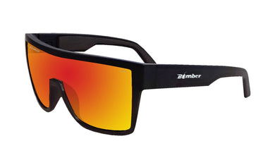 BUZZ Safety - Polarized Red Mirror - Bomber Eyewear Nz