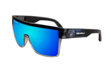 BUZZ Safety - Polarized Ice Mirror Crystal - Bomber Eyewear Nz