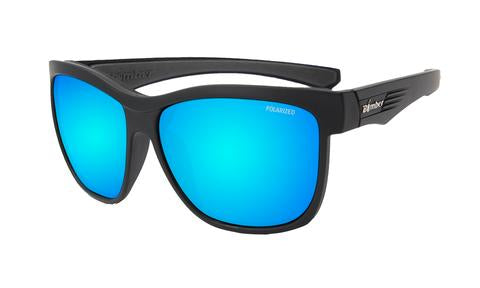 Jaco Polarised Ice Blue Mirror - Bomber Eyewear Nz