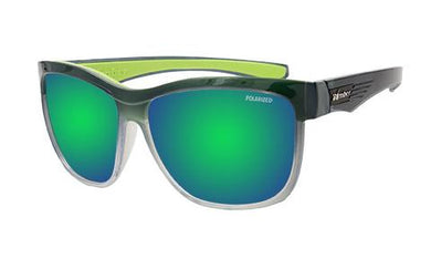 Jaco 2 Tone Crystal Polarised Green Mirror - Bomber Eyewear Nz