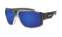 Load image into Gallery viewer, MEGA Safety - Polarized Blue Mirror Crystal - Bomber Eyewear Nz