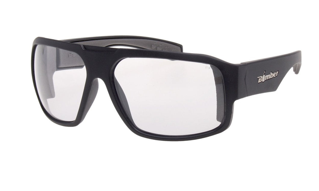 SAFETY MEGA Clear - Bomber Eyewear Nz