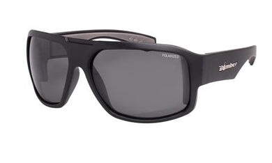 Mega Polarised Smoke Black - Bomber Eyewear Nz