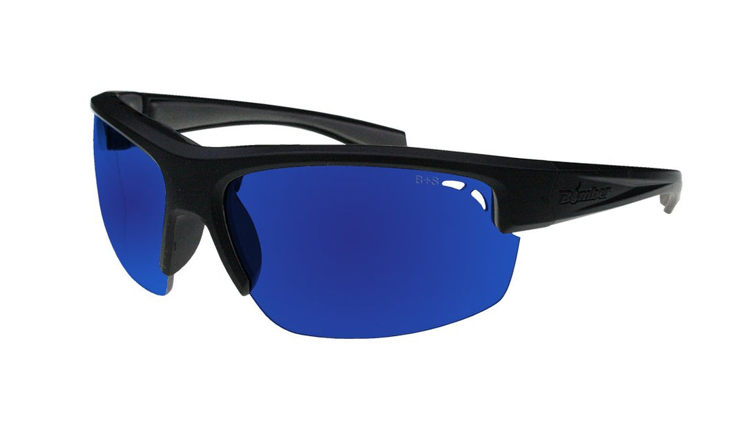 Reggie Polarised  Blue Mirror - Bomber Eyewear Nz