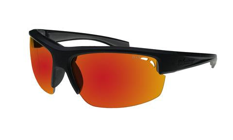 Reggie Polarised Red Mirror - Bomber Eyewear Nz