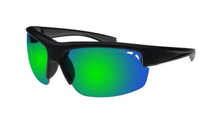 Reggie Black Green Mirror - Bomber Eyewear Nz