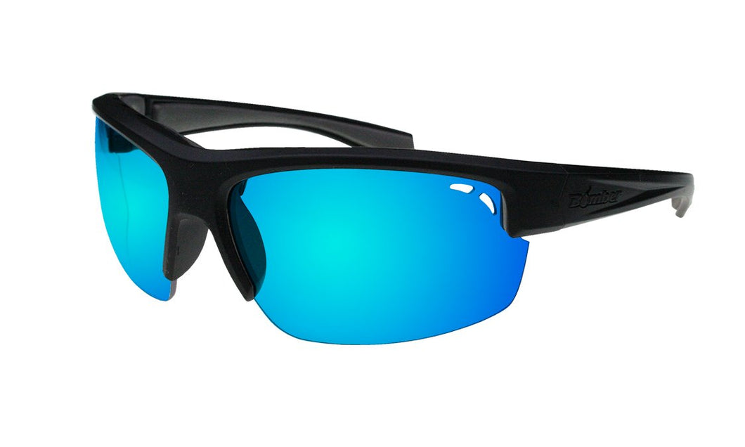 Reggie Polarised Ice Blue Mirror - Bomber Eyewear Nz