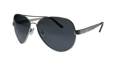 Strange - Polarized Smoke Silver - Bomber Eyewear Nz