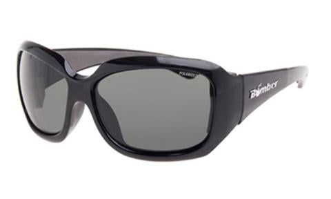 Sugar Black Smoke Polarised - Bomber Eyewear Nz