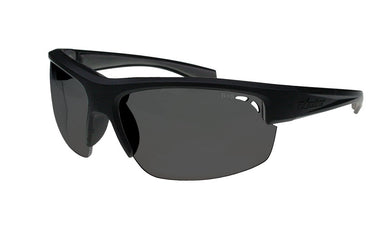 Reggie Black Smoke Polarised - Bomber Eyewear Nz