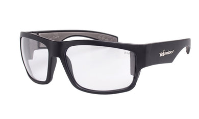 SAFETY TIGER Clear - Bomber Eyewear Nz