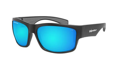 Tiger Safety - Polarized Ice Blue Mirror - Bomber Eyewear Nz