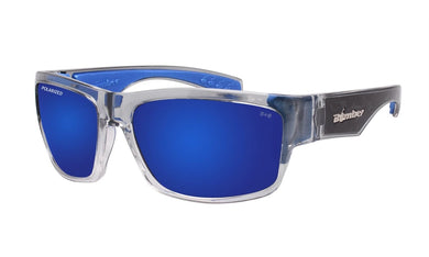 TIGER 2 tone Blue Mirror - Bomber Eyewear Nz
