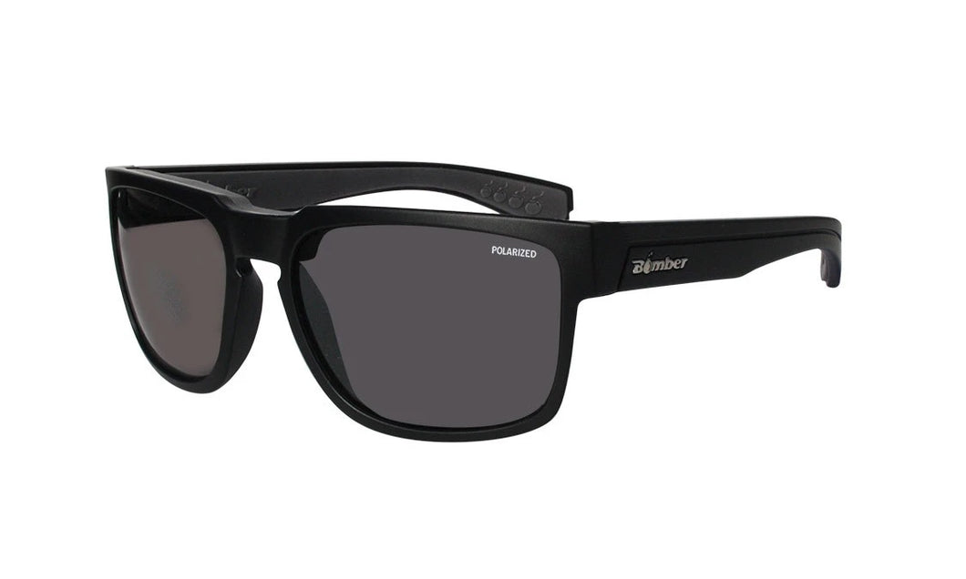 SMART Black Smoke Polarised - Bomber Eyewear Nz