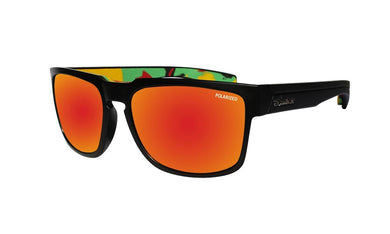 SMART Red Mirror Rasta Foam - Bomber Eyewear Nz