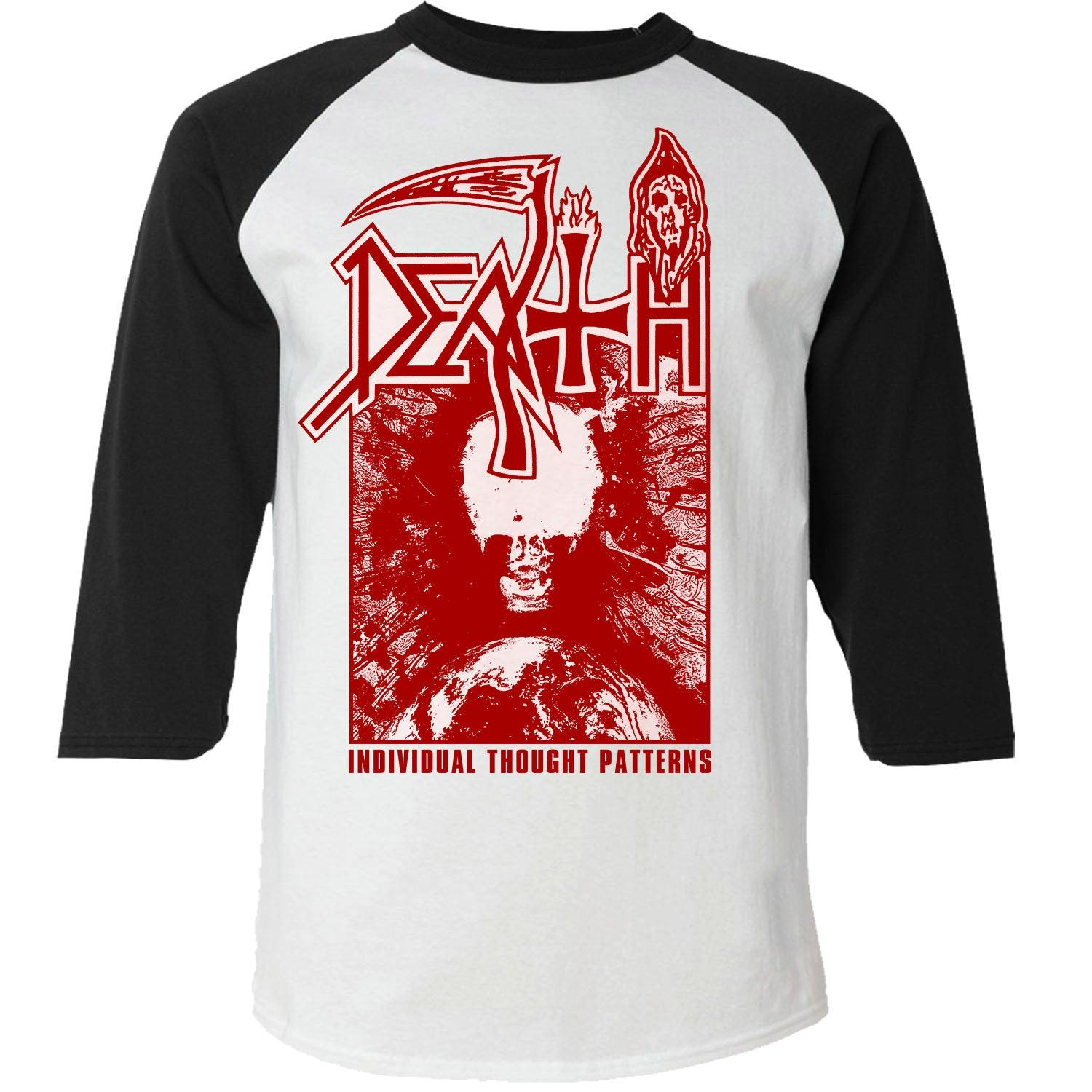 Death - Individual Thought Patterns 3/4 Raglan Baseball T-Shirt