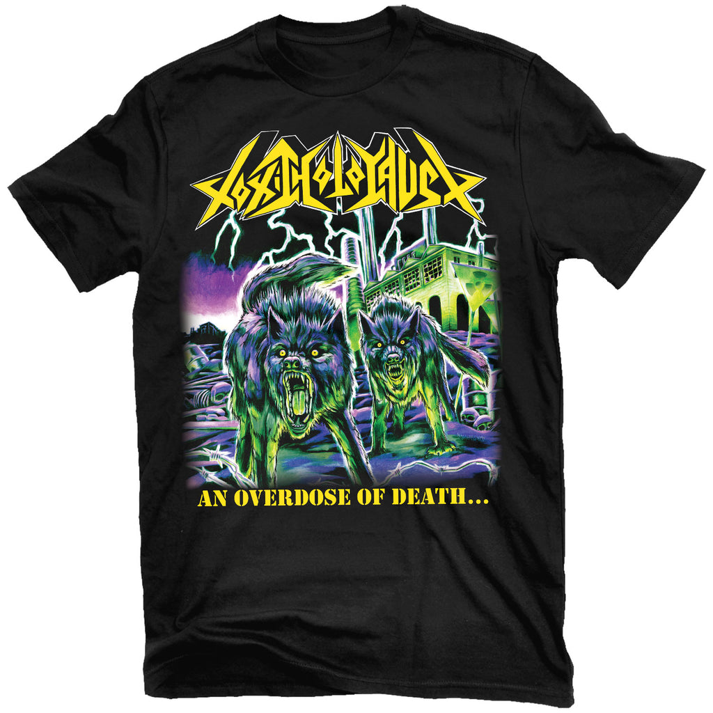 Toxic Holocaust Overdose T-Shirt Relapse Records