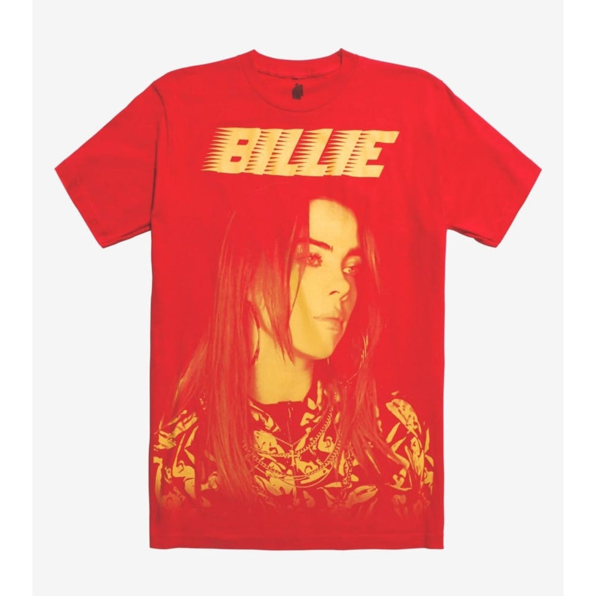 Billie Eilish - Red Portrait T-Shirt