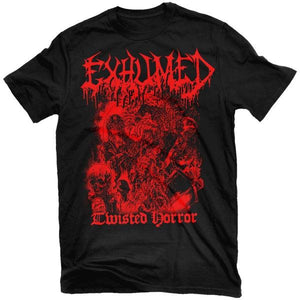 Exhumed - Twisted Horror T-Shirt