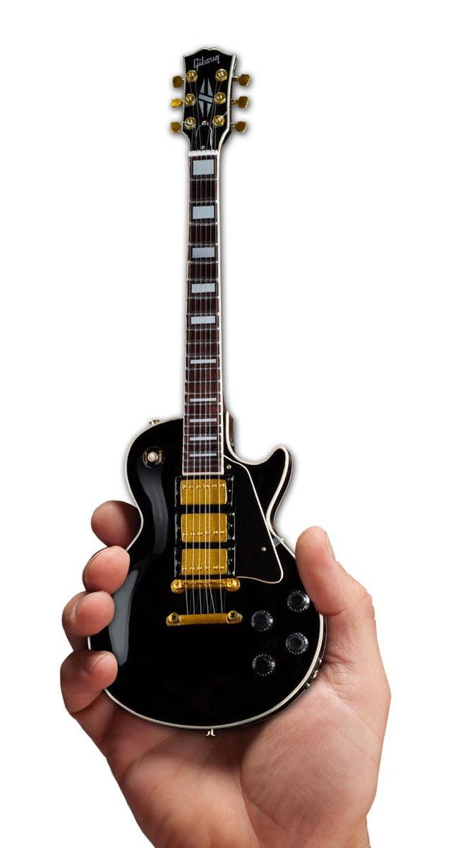 Axe Heaven Gibson 1959 Les Paul Ebony Mini Guitar Collectible