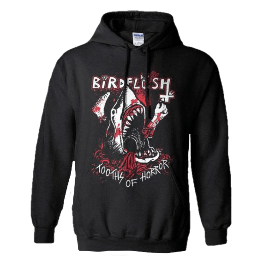 Birdflesh - Tooths Of Horror Hoodie Sweatshirt