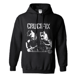 Crucifix - No Solution Hoodie Sweatshirt