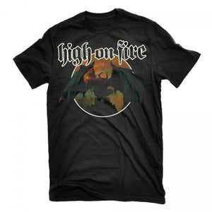 High On Fire - Blessed Black Wings T-Shirt