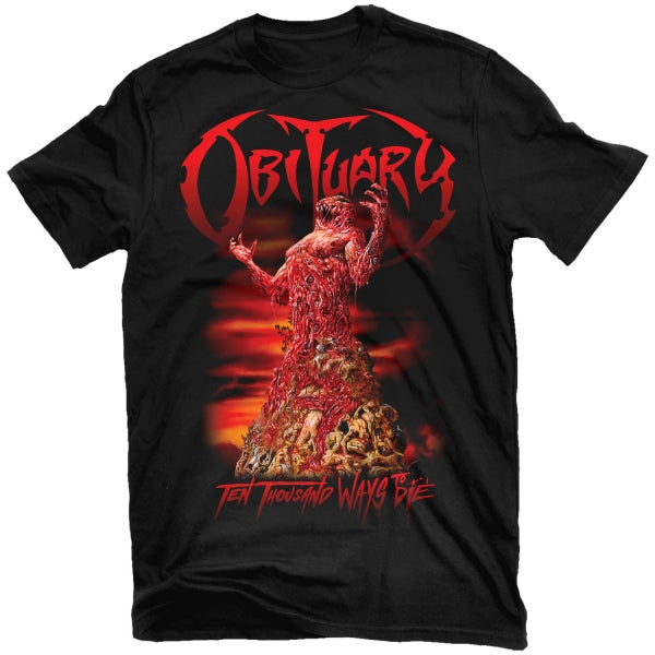 Obituary - Ten Thousand Ways To Die T-Shirt