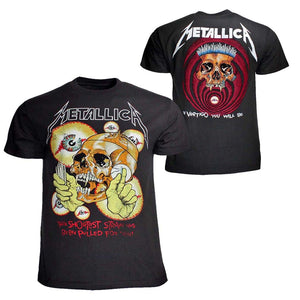 Metallica Shortest Straw T-Shirt - PORTLAND DISTRO