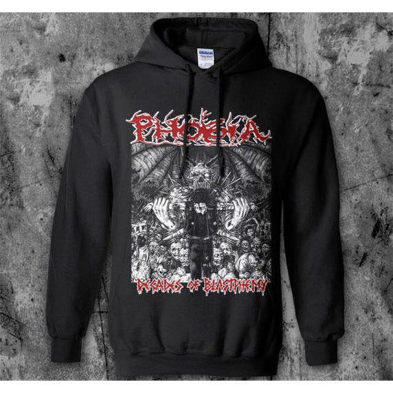 Phobia - Decades of Blastpheme Hoodie Sweatshirt