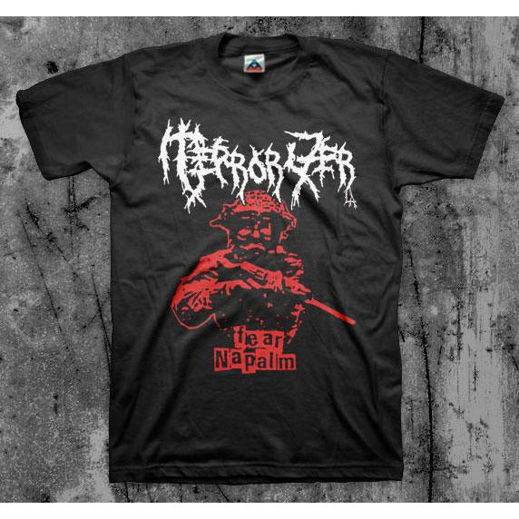 Terrorizer L.A. - Fear Napalm (2 Color) T-Shirt