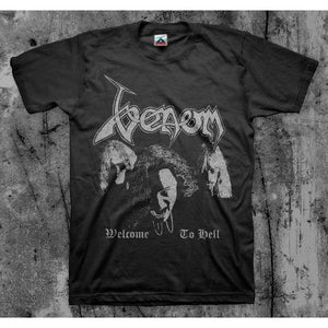 Venom - Welcome To Hell Faces T-Shirt