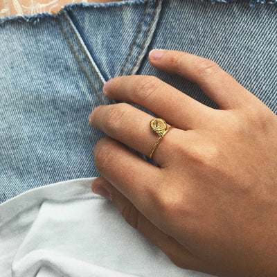 Milagrosa Ring - Solid Gold