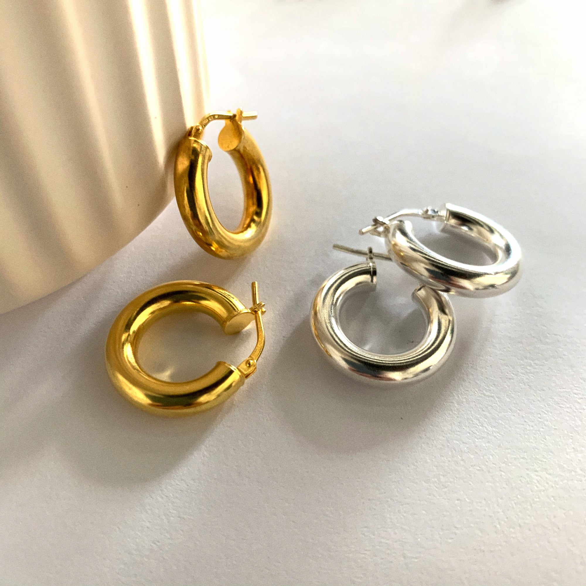 Ester Small Hoops