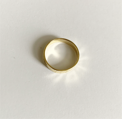Pau Ring - Solid Gold