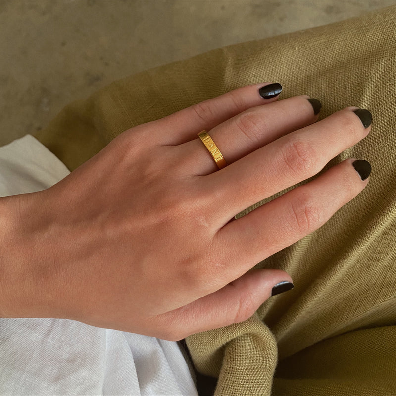 The Chunky Band Ring