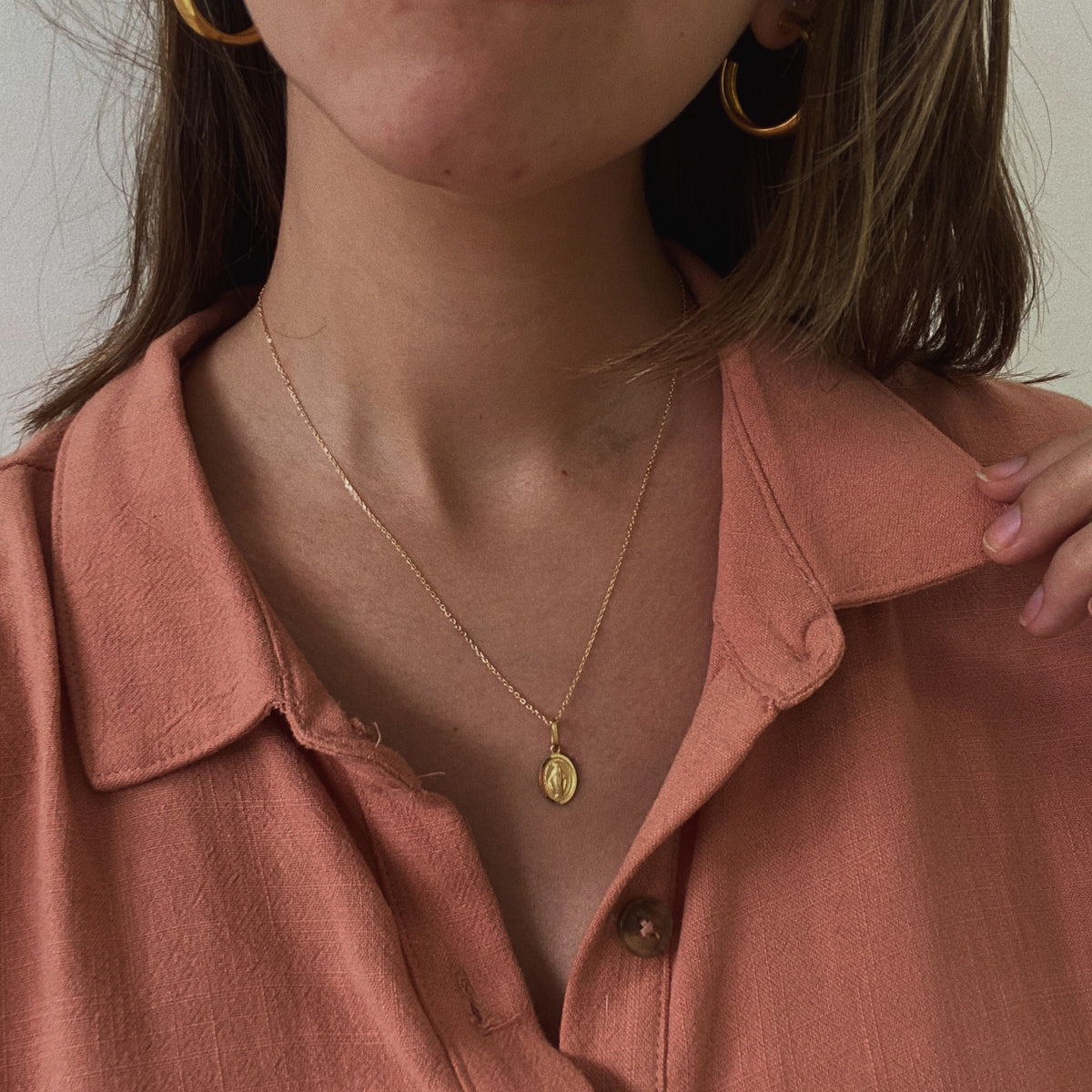 Milagrosa Necklace - Solid Gold