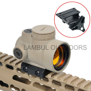 Red Dot Sight Optic Trijicon With Low and Ultra High QD Mount fit 20mm Rail
