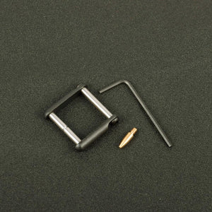 Gen 2 .154 Non-Rotating Anti-Walk Pins with Black Side Plates