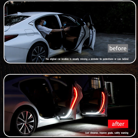 LED Car Door Anti-Collision Safety Warning Lights