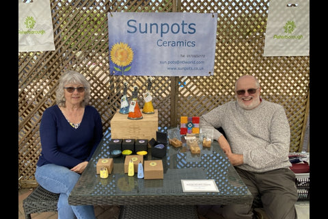 Christine and Brian Withall showcase their amazing ceramics and glassware